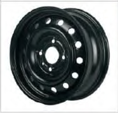 6JX15 Car Steel Wheel Rim